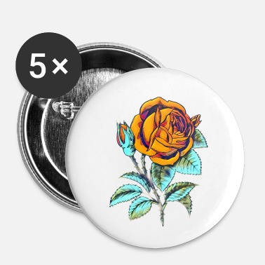 Collections Rose - Buttons klein 25 mm (5er Pack)