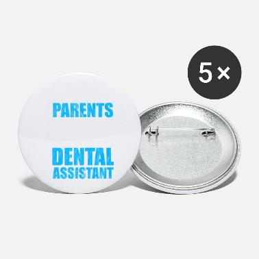 Dental Care Dental hygienist dental care nurse - Small Buttons
