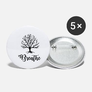 Breathe Breathe breathing - Small Buttons