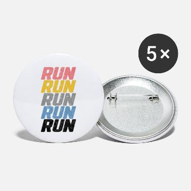 Running Run Run Run - Small Buttons