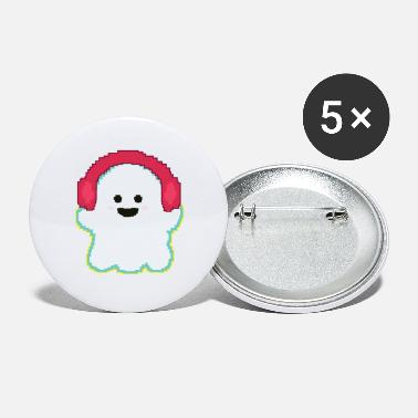 Ghost Pixel Pixel ghost - Small Buttons