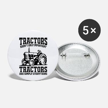 Crop Tractor shirt - Small Buttons