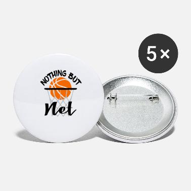 Net Nothing But Net - Small Buttons