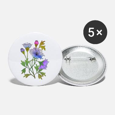 Color Flowers - Small Buttons