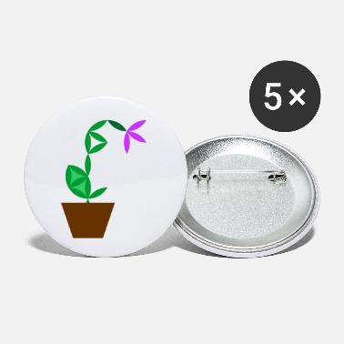 King The Flower Of Life - Sacred Plants. - Small Buttons