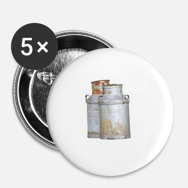 Lait lait - Badge petit 25 mm