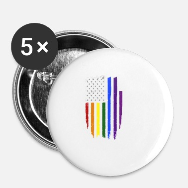 Us Gay US - Badge petit 25 mm