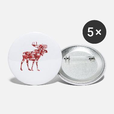 ELK Flecktarn ROUGE - Petits badges