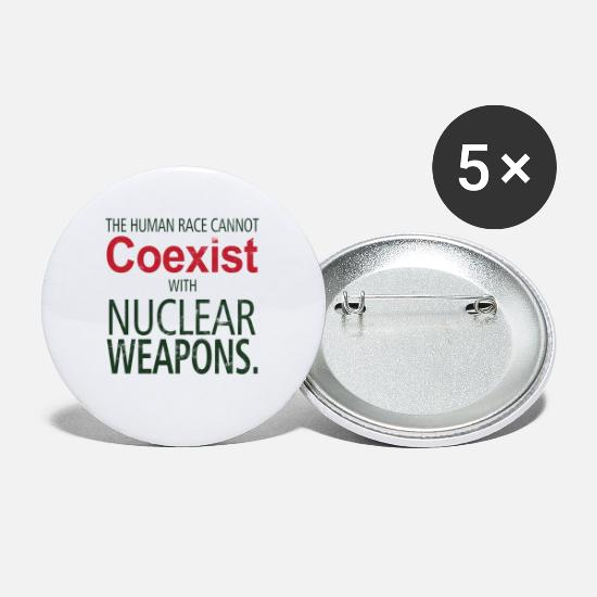 Wind Energy Buttons - International Day against Nuclear Tests - Small Buttons white