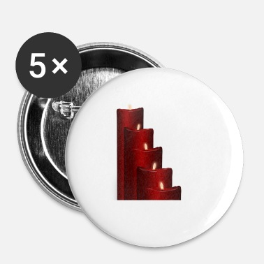 Advent Advent kaarsen - Buttons klein 25 mm (5-pack)