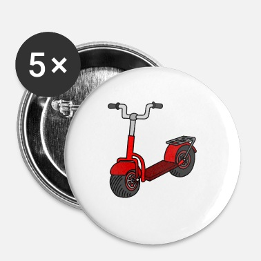 Kick kick scooter - Buttons klein 25 mm (5-pack)