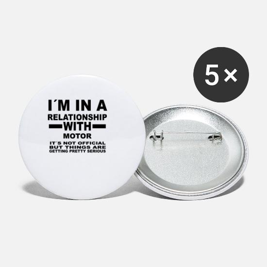 Love Buttons - relationship with MOTOR SPORTS - Small Buttons white