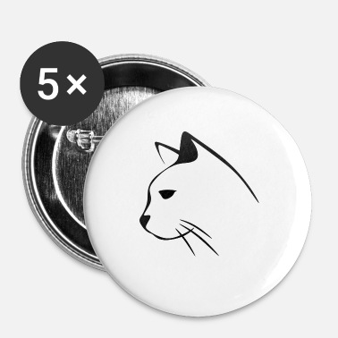 Kat Chicks kat kat katten katten - Buttons klein 25 mm