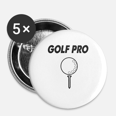Pro golf pro - Buttons klein 25 mm (5-pack)