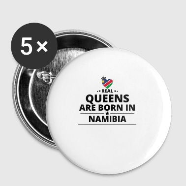 GESCHENK QUEENS LOVE FROM NAMIBIA - Buttons klein 25 mm