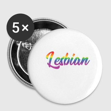 LGBT Gay Pride Lesbian I'm that Lesbian your Mom warned you about - Buttons small 25 mm