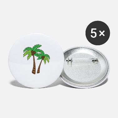 Palmbomen palmboom - Buttons klein