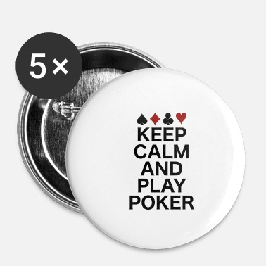 Poker poker - Badge petit 25 mm