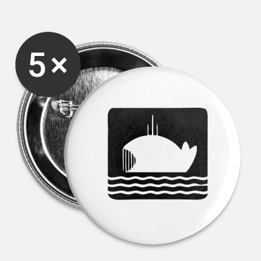 Dick Moby-Dick - Buttons klein 25 mm