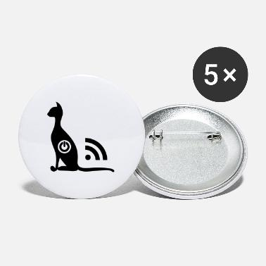 Chat Wifi ON OFF - Petits badges