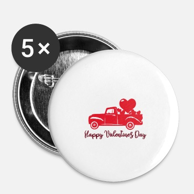 Valentines Day Happy Valentines Day Valentines Day Gift Partner - Small Buttons