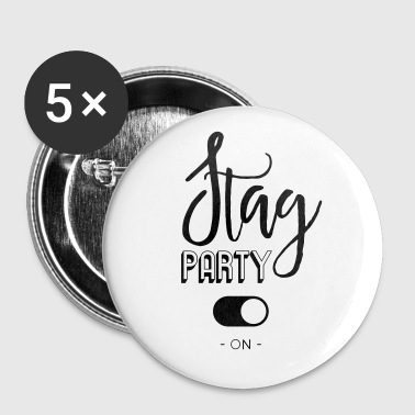Stag party - Buttons small 25 mm