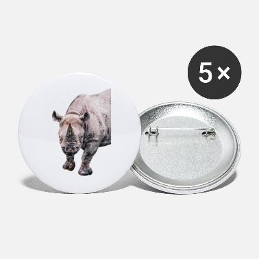 Rhinoceros Rhinoceros - Small Buttons