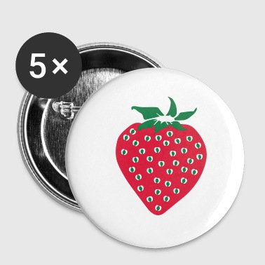 Strawberry - Strawberry - Buttons klein 25 mm