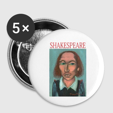 Shakespeare William Shakespeare - Buttons small 25 mm