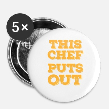 Som En Chef Denne chef - Buttons/Badges lille, 25 mm