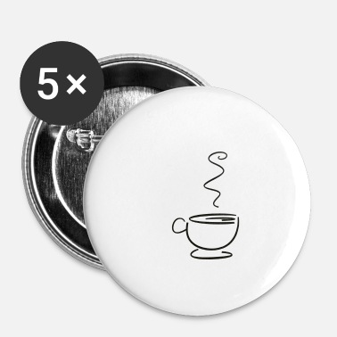 Tasses tasse - Badge petit 25 mm