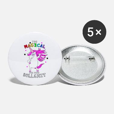 Bullshit Einhorn Unicorn Magic - Buttons klein