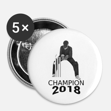 Champion Cricket Champion 2018. Champion i Cricket - Buttons/Badges lille, 25 mm
