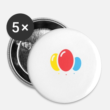 Ballon balloner - Buttons/Badges lille, 25 mm