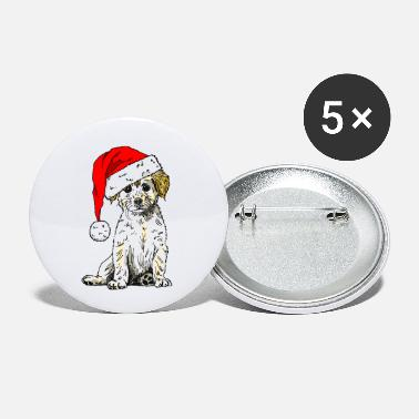 Christmas Doggy - Small Buttons