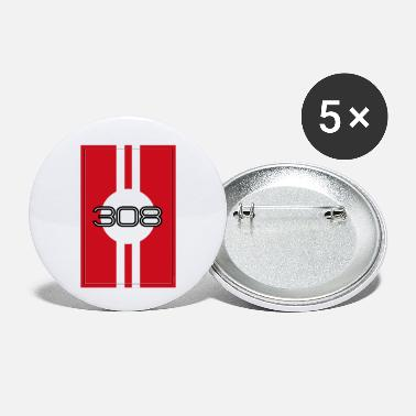Motor Race 308 GTS racing design - Small Buttons