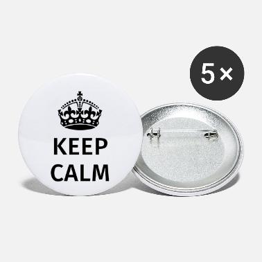 Keep Calm Keep Calm - Buttons klein