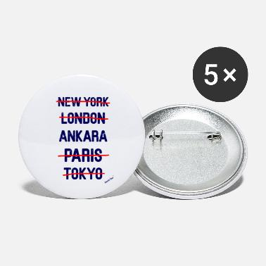Ny NY London Ankara..., Francisco Evans ™ - Buttons klein