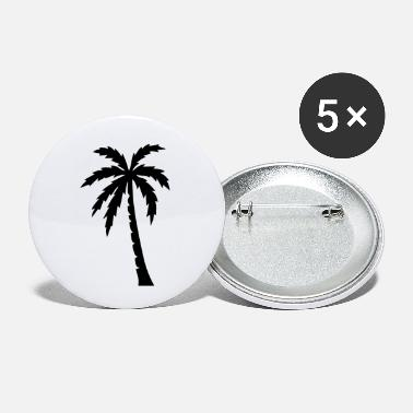 Palm Trees Palm palm trees - Small Buttons