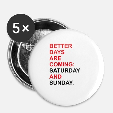 Weekend weekend - Petits badges
