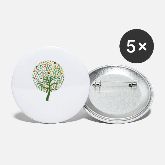 Nature Badges - nature - Petits badges blanc