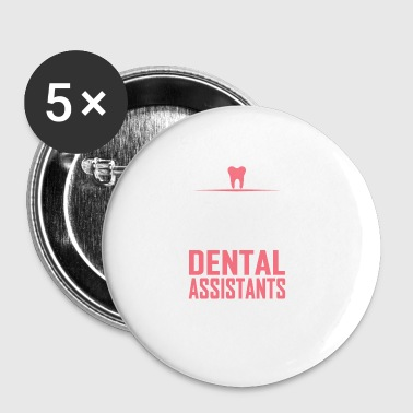 assistants dentaires - Badge petit 25 mm