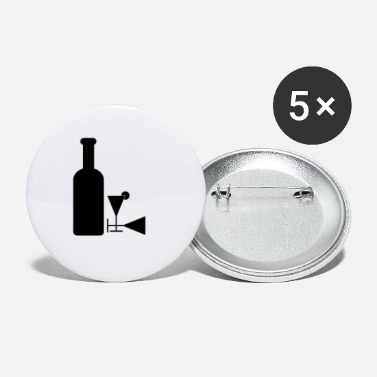 Alcohol Buttons - alcohol - Small Buttons white