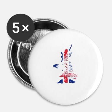 Uk Flying/UK - Badge petit 25 mm