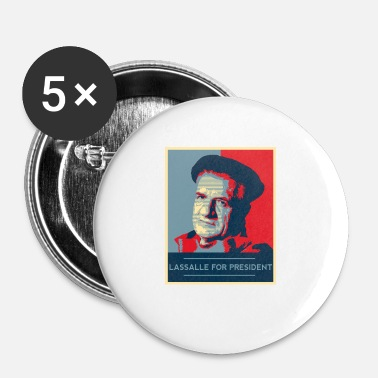 Président Obama Lassalle-Obama For President - Badge petit 25 mm