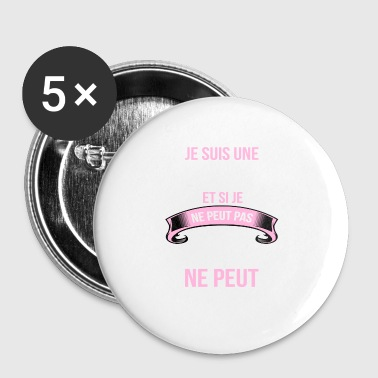 Conductrice - Badge petit 25 mm