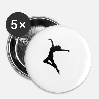 Danser danser - Buttons klein 25 mm (5-pack)