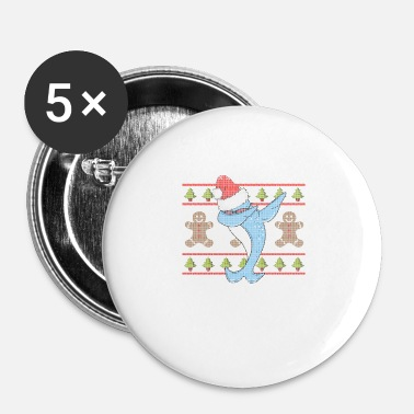 Narwhal Dabbing Narwhal Ugly Shirt - Buttons small 25 mm