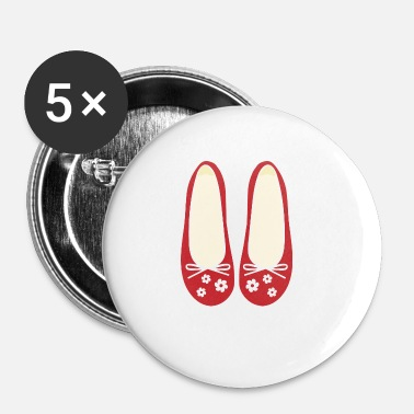 Chaussures chaussures - Badge petit 25 mm