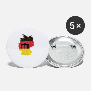Federal Republic Of Germany The Federal Republic of Germany + Brandenburg Gate - Small Buttons